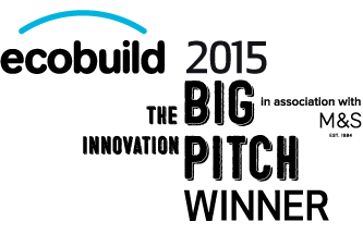 Ecobuild M&S Big Innovation Pitch Winner