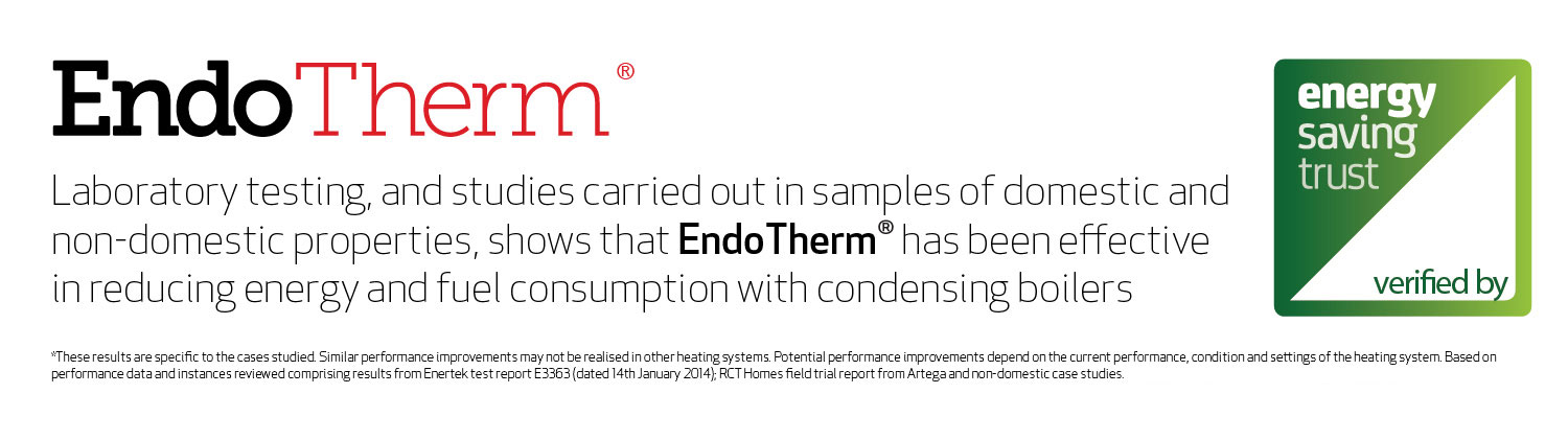 EndoTherm domestic energy saving central heating additive