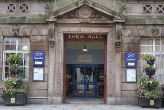 Preston Council, Preston Town Hall